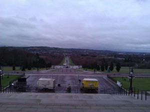 View from Parliament Buildings this morning.