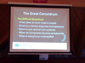 The Great Conundrum - great slide from @HughMcCaughey @setrust #niconfrancis